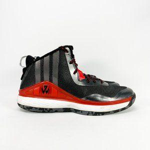 ADIDAS J Wall 1 Core Black Scarlet Basketball Shoe